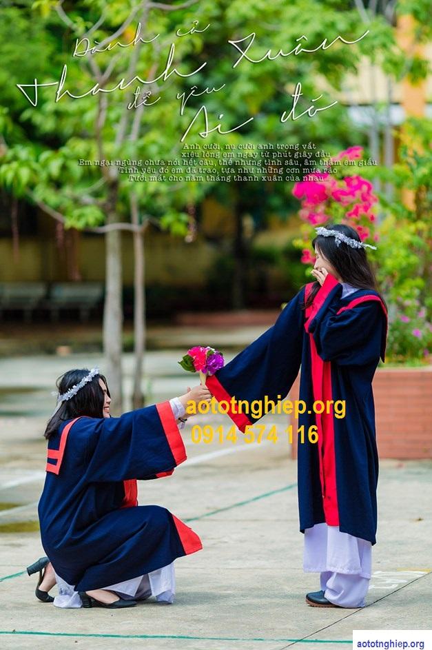 xưởng may đồng phục tốt nghiệp