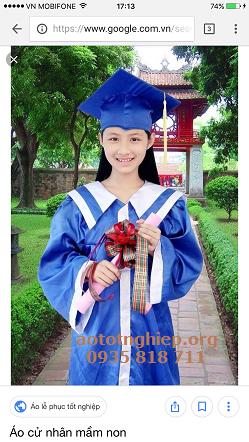 Aó tốt nghiệp TT anh ngữ 15