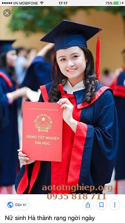 Aó tốt nghiệp TT anh ngữ 16
