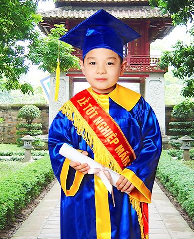 Áo tốt nghiệp tiểu học  T01