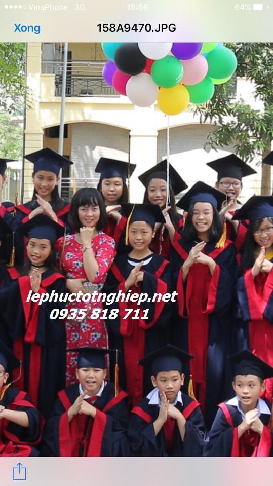 Xưởng may lễ phục tốt nghiệp Tam Kỳ Quảng Nam