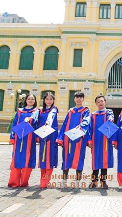 Aó tốt nghiệp cho thuê 08