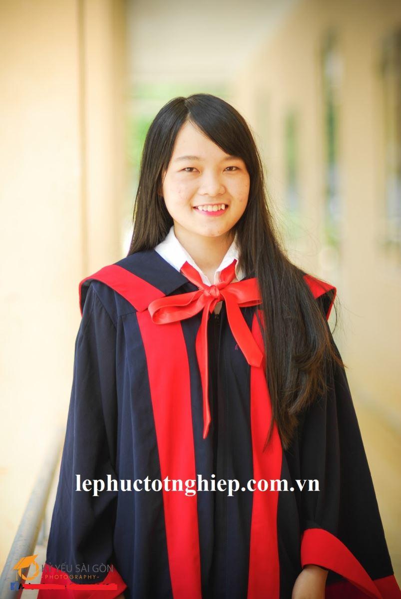 Áo tốt nghiệp trung học cơ sở Tân Phú