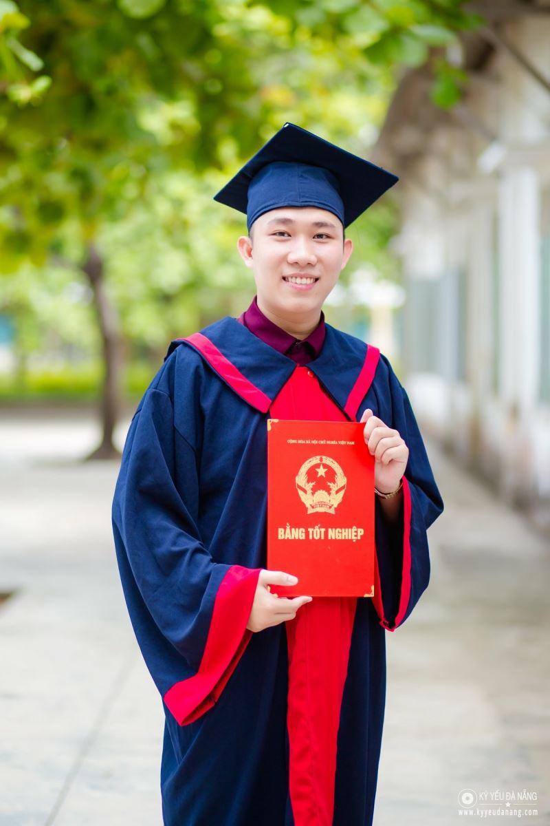 Aó tốt nghiệp trung học phổ thông 15